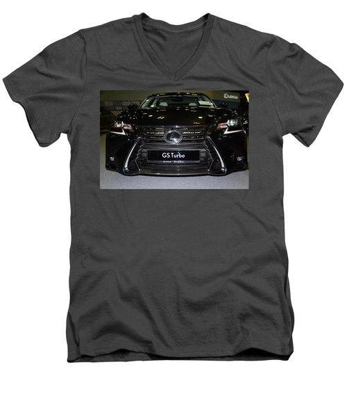 Lexus Gs Turbo Men's V-Neck T-Shirt
