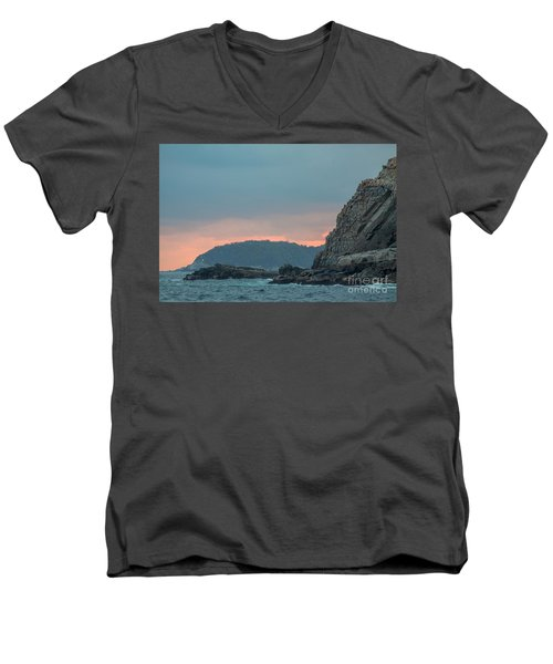 L'heure Bleue, Men's V-Neck T-Shirt