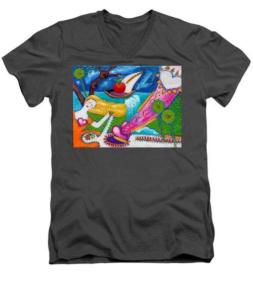 Life After Life Men's V-Neck T-Shirt