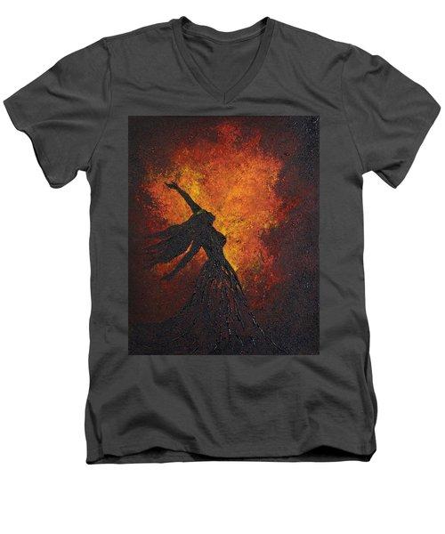 Life Force Men's V-Neck T-Shirt