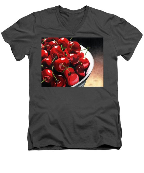 Life Is.... Men's V-Neck T-Shirt by Angela Armano