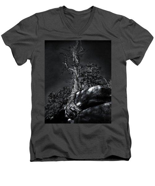 Life Is Tribulation Men's V-Neck T-Shirt