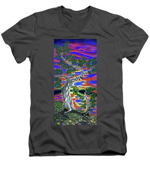 Life Of Trees Men's V-Neck T-Shirt