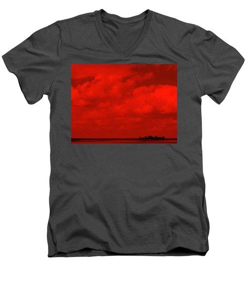 Life On Mars Men's V-Neck T-Shirt