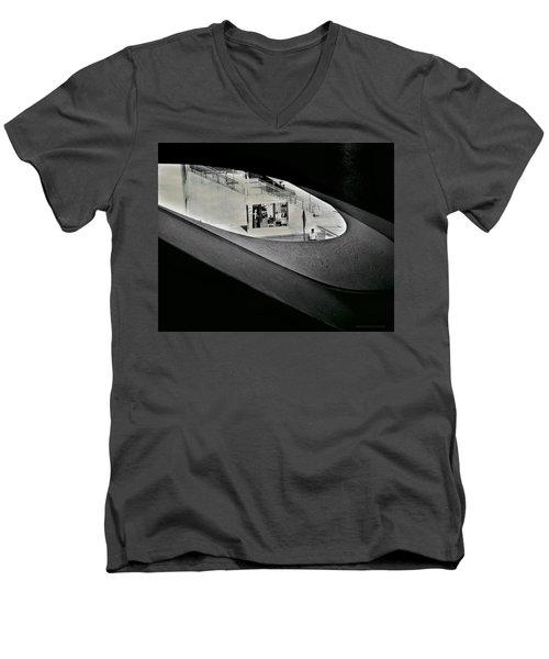 Life Outside The Window Men's V-Neck T-Shirt
