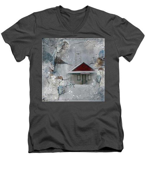 Lifeguard Station Men's V-Neck T-Shirt