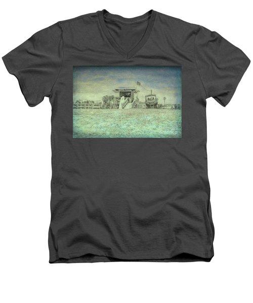 Lifeguard Tower 2 Men's V-Neck T-Shirt