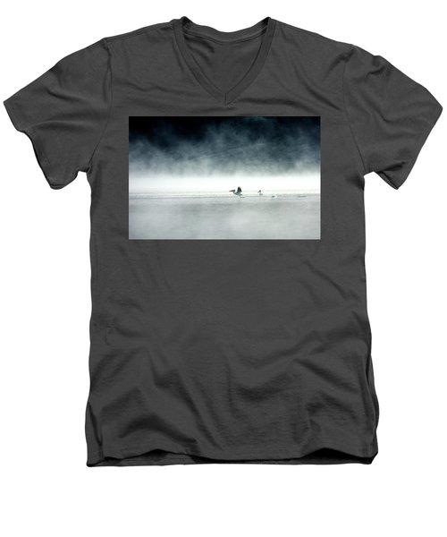 Lift-off Men's V-Neck T-Shirt