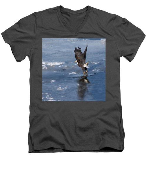 Lift Off Men's V-Neck T-Shirt