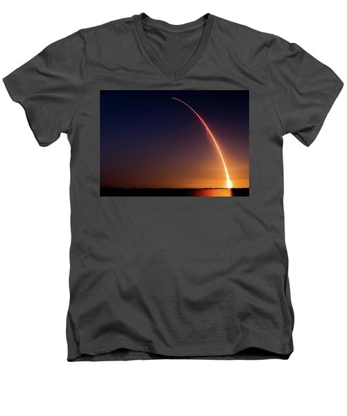 Liftoff Men's V-Neck T-Shirt