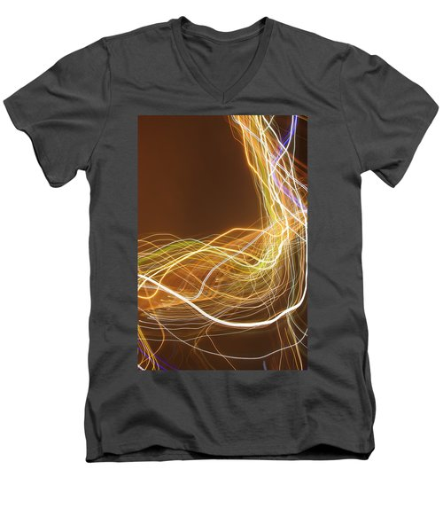 Light 2 Men's V-Neck T-Shirt