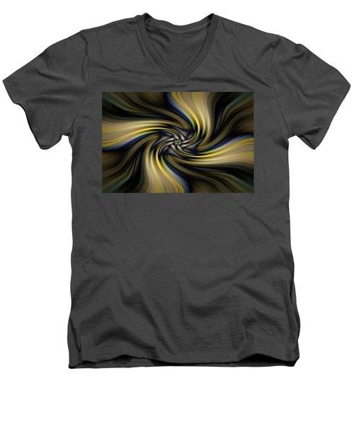 Light Abstract 10 Men's V-Neck T-Shirt
