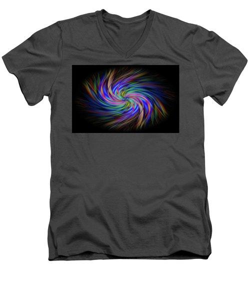 Light Abstract 2 Men's V-Neck T-Shirt