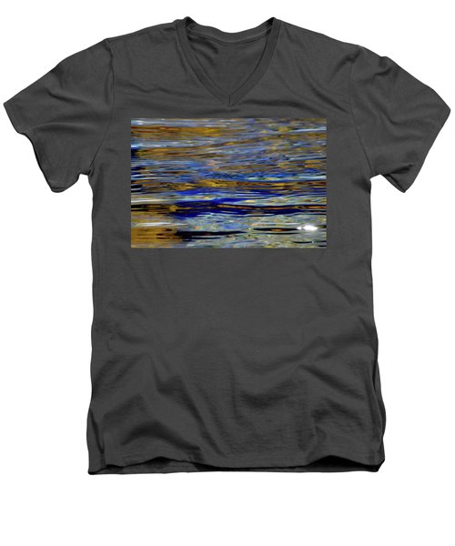 Light And Water  Men's V-Neck T-Shirt by Lyle Crump