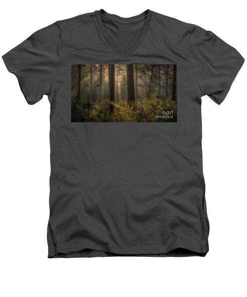 Light Bath Men's V-Neck T-Shirt