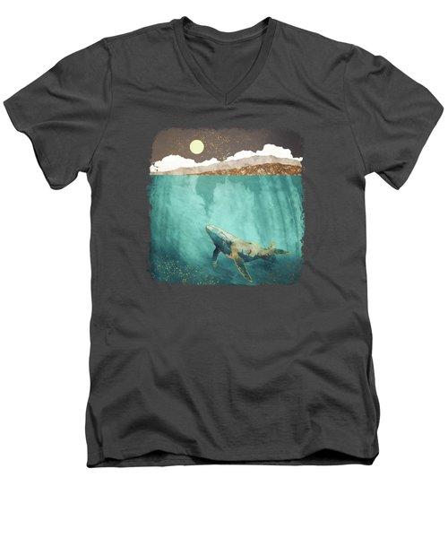 Light Beneath Men's V-Neck T-Shirt