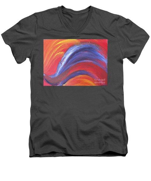 Light Harted Men's V-Neck T-Shirt