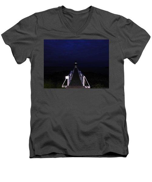 Light In Darkness Men's V-Neck T-Shirt