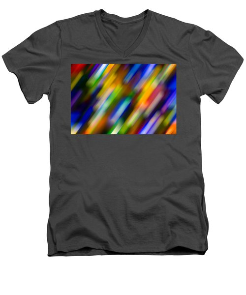 Light In Motion Men's V-Neck T-Shirt