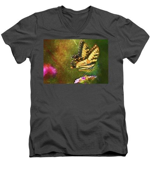 Light On Beauty Men's V-Neck T-Shirt