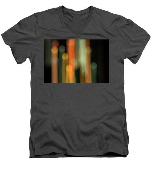 Light Painting No. 1 Men's V-Neck T-Shirt