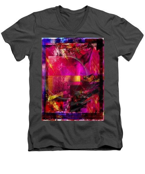 Light Particles Men's V-Neck T-Shirt