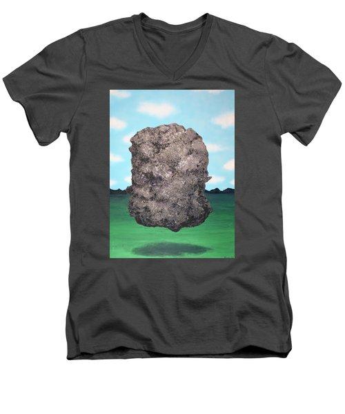 Light Rock Men's V-Neck T-Shirt by Thomas Blood