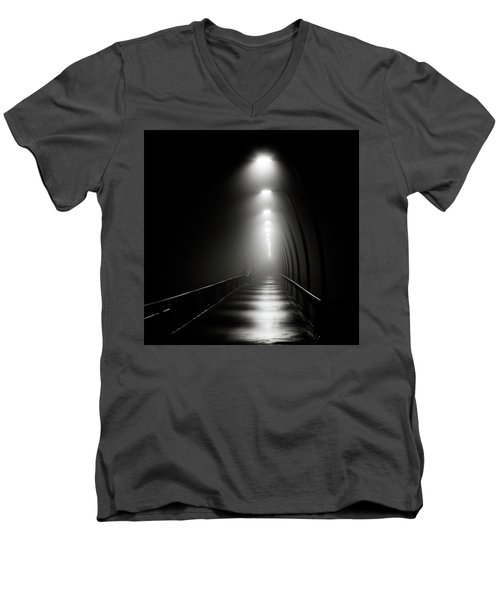 Light The Way Men's V-Neck T-Shirt