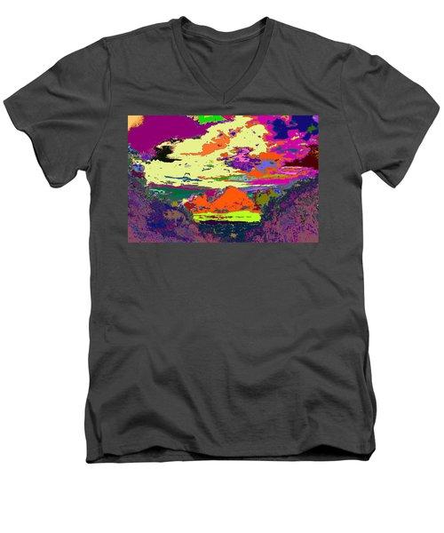 Light Up My Life  Men's V-Neck T-Shirt