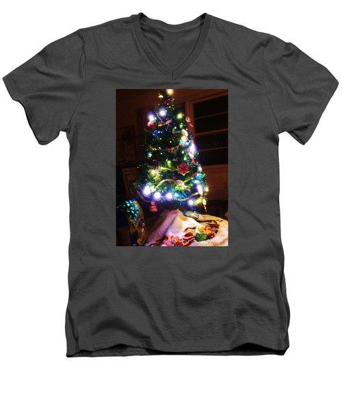 Light Up The Night Men's V-Neck T-Shirt