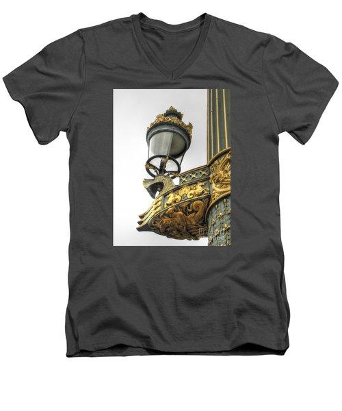 Lighter City Men's V-Neck T-Shirt