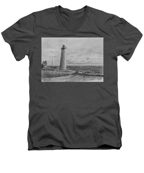 Lighthouse Point Men's V-Neck T-Shirt