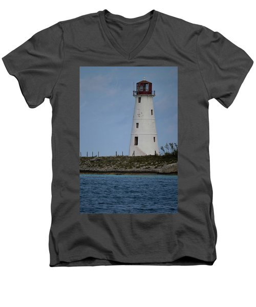 Lighthouse Watch Men's V-Neck T-Shirt