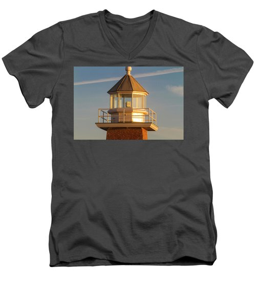 Lighthouse Wonder Men's V-Neck T-Shirt