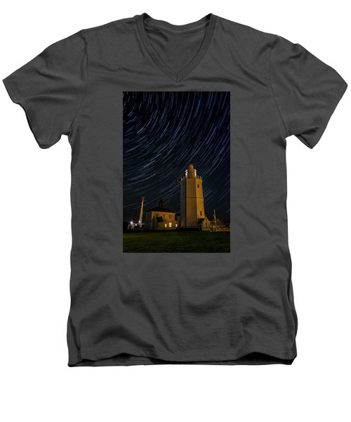 Lighting The Sky Men's V-Neck T-Shirt