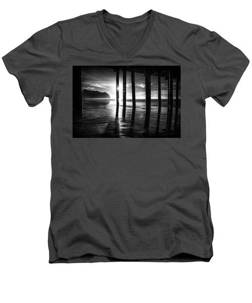 Lighting Up The Dark Men's V-Neck T-Shirt