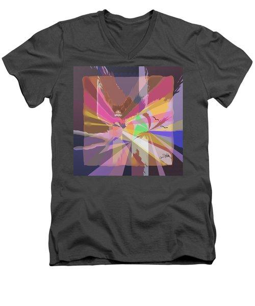 Lights Men's V-Neck T-Shirt