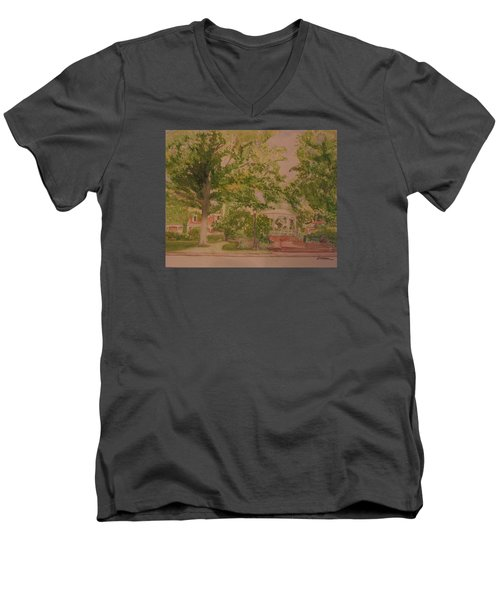 Ligonier Pa Gazebo 2 Men's V-Neck T-Shirt