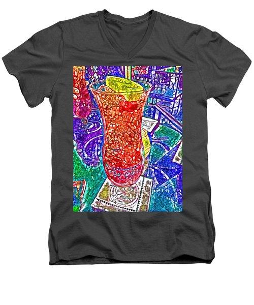 Like A Hurricane Men's V-Neck T-Shirt