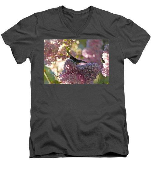 Lilac World Men's V-Neck T-Shirt