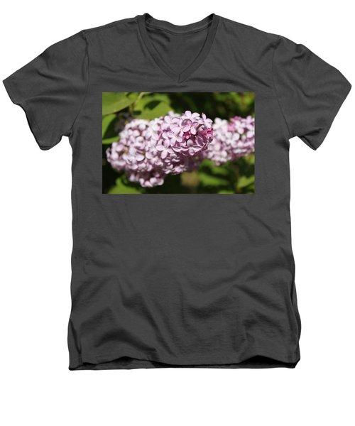 Lilacs 5549 Men's V-Neck T-Shirt