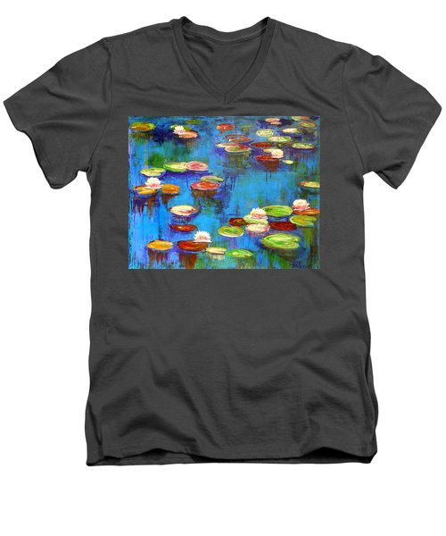 Lillies Men's V-Neck T-Shirt