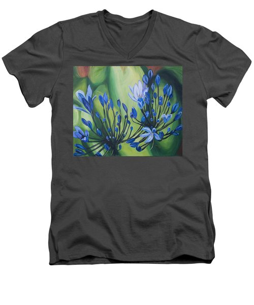 Lilly Of The Nile Men's V-Neck T-Shirt