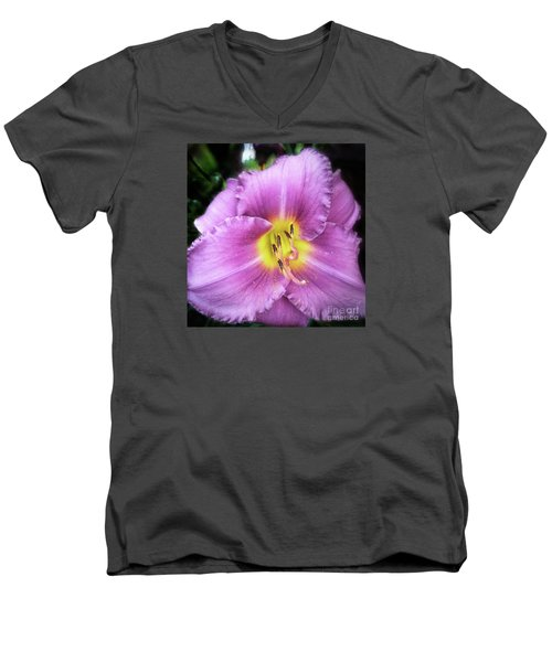 Lily In The Shade Men's V-Neck T-Shirt