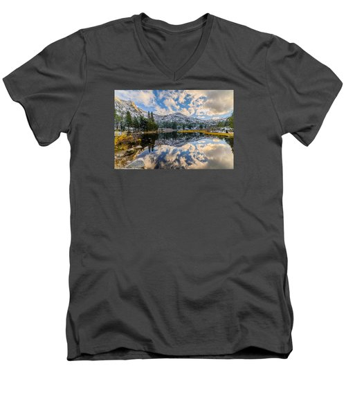 Lily Lake Men's V-Neck T-Shirt