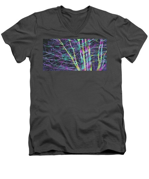 Limbs And Twigs Men's V-Neck T-Shirt