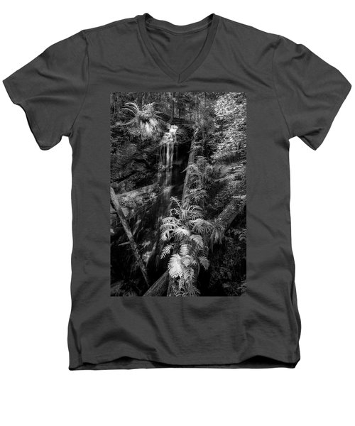 Limited And Restricted Men's V-Neck T-Shirt by Jon Glaser