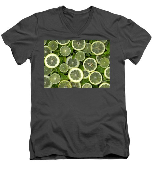 Limons Men's V-Neck T-Shirt