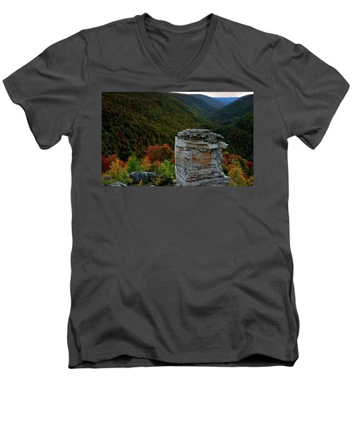 Lindy Point Men's V-Neck T-Shirt