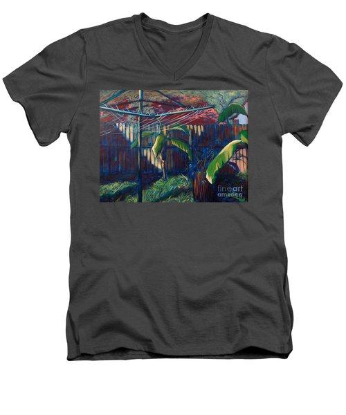 Lines And Light Men's V-Neck T-Shirt